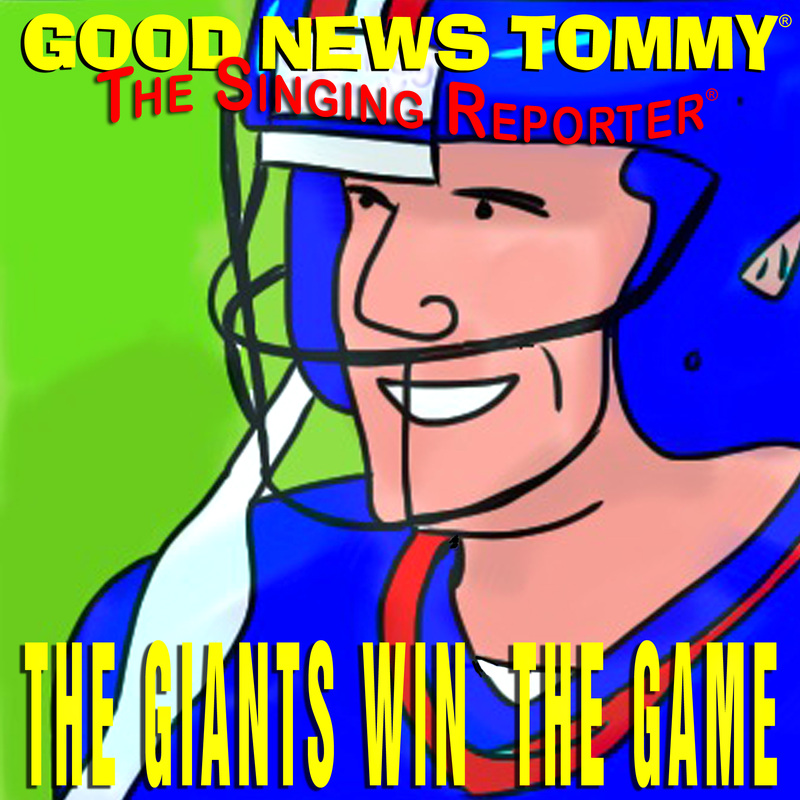 Good News Tommy - The Giants Win The Game
